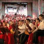 В День Победы - 2 оркестра, 100 исполнителей 09.05.2019