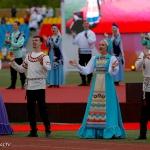 Выступление Уральского народного хора на дне города Магнитогорска 28.06.2019