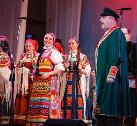 Концерт Государственного Волжского русского народного хора