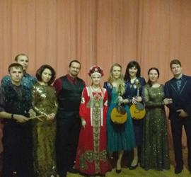 Артисты Уральского центра народного искусства приняли участие в праздничной программе в честь Дня защитника Отечества