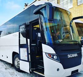 Новый автобус Уральского народного хора