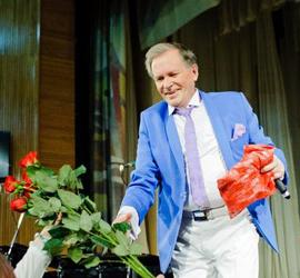 Народный артист России Иван Пермяков празднует свой 75-летний юбилей