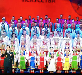 Уральский народный хор завершил гастрольный тур по городам Центрального Федерального округа