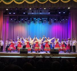 Артисты Уральского народного хора продолжают гастроли по городам Беларуси