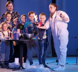 Старт научного фестиваля «Дни космоса» состоялся в Уральском центре народного искусства