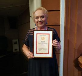 Светлана Комаричева стала лауреатом Всероссийской литературной премии им. В.Т.Станцева