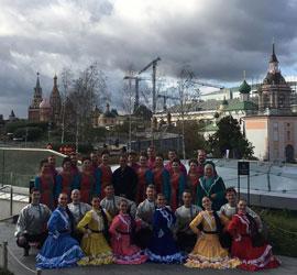 Артисты Уральского народного хора представили Свердловскую область в «Зарядье»