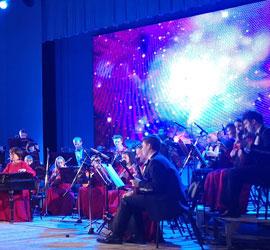 """Музыкально-научное шоу """"Марс"""" открыло абонемент """"Оркестр в космосе"""""""