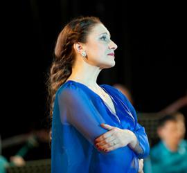 Юбилейный творческий вечер Натальи Поповой