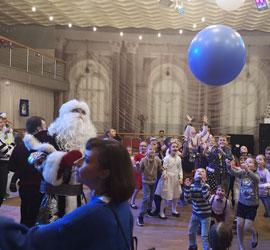 В Уральском центре народного искусства отметили день рождения Деда Мороза