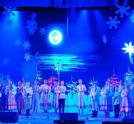 Рождественский фестиваль завершился в Концертном зале им.М.В.Лаврова премьерой программы «Ангел Рождества»