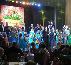Праздник под названием «Весна, любовь и вдохновение» состоялся в Концертном зале им. М.В. Лаврова