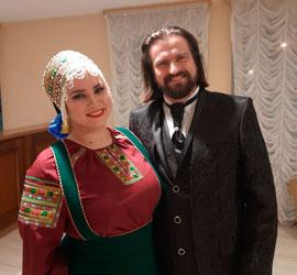 Концертом в Тюмени открылся гастрольный тур Уральского государственного русского народного оркестра