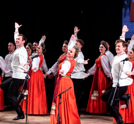 ральский государственный академический русский народный хор на фестивале «Оренбургский пуховый платок»