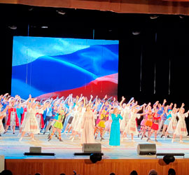 «Как прекрасен этот мир, посмотри». В Уральском центре народного искусства имени Е.П.Родыгина прошел инклюзивный концерт