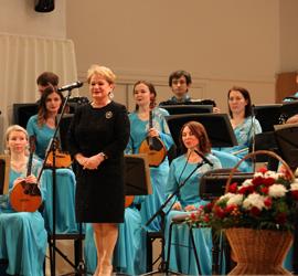 Русский оркестр дал юбилейный концерт